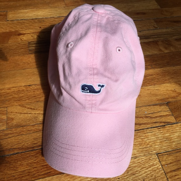 Vineyard Vines Whale Logo Hat in flamingo aa4f8861c043